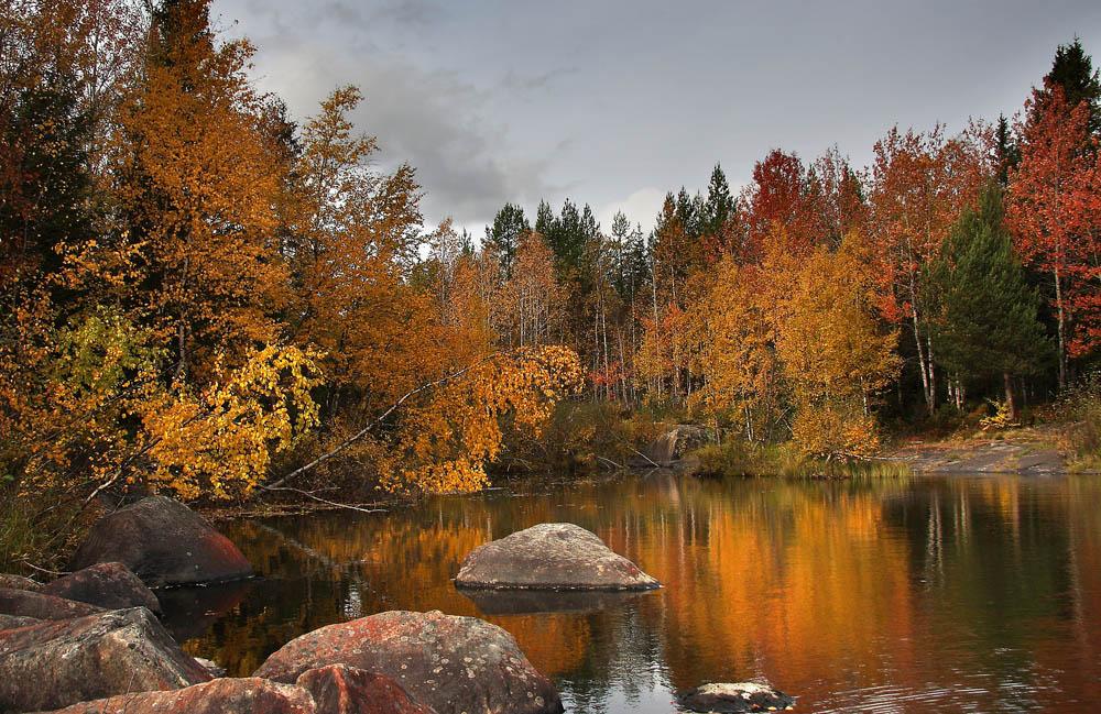 осень в карелии фото других озерах
