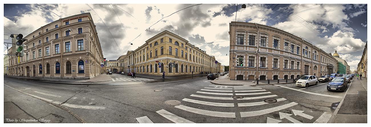 панорамы и фотографии улиц в спб разные, том