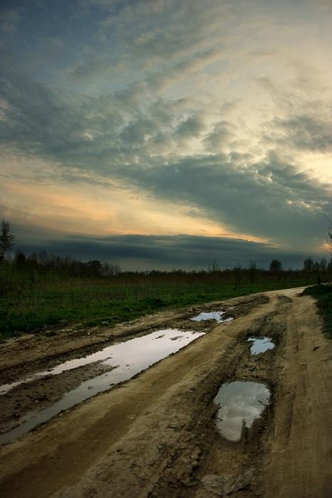 Фото красивой длинной дороги игра