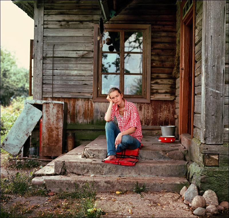 жизнь в деревне как на картинке оставшуюся жизнь она