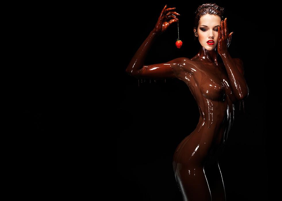 Chocolate sexy nude too fat