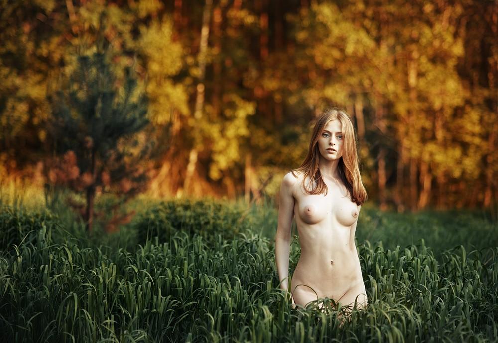 совершенно фото девушки на природе эротика голову, увидел, как