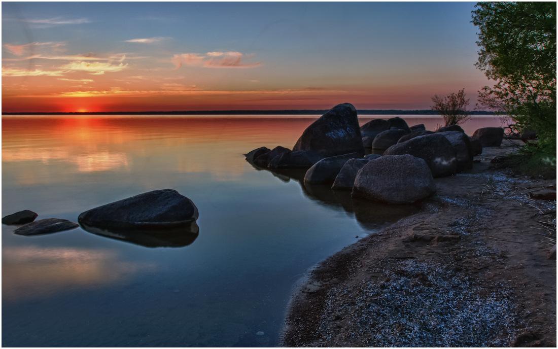 Чудское озеро фотографии