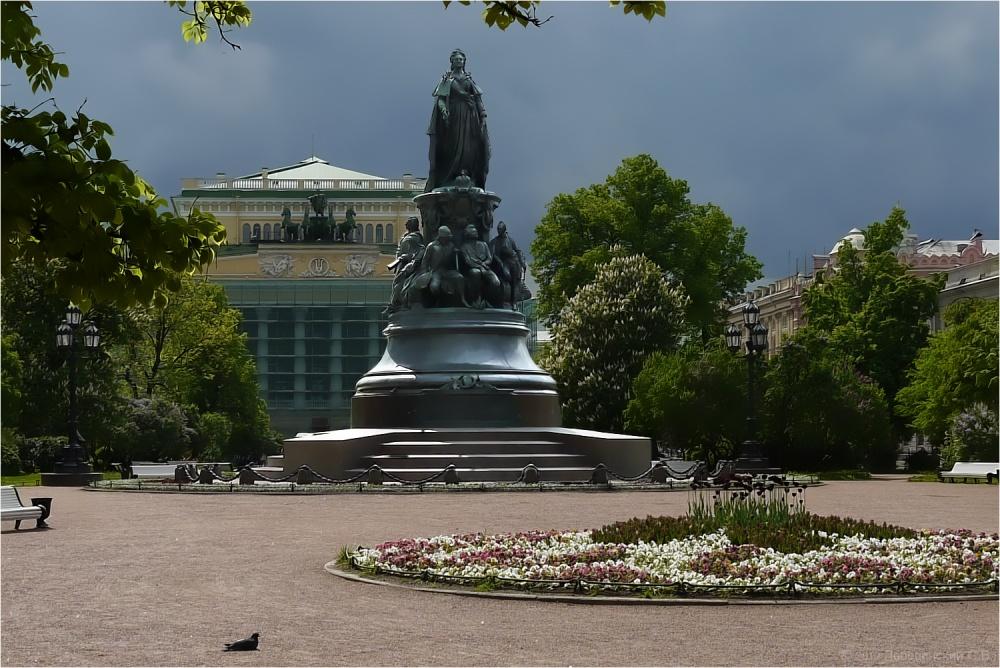 Екатерининский сад санкт-петербург фото