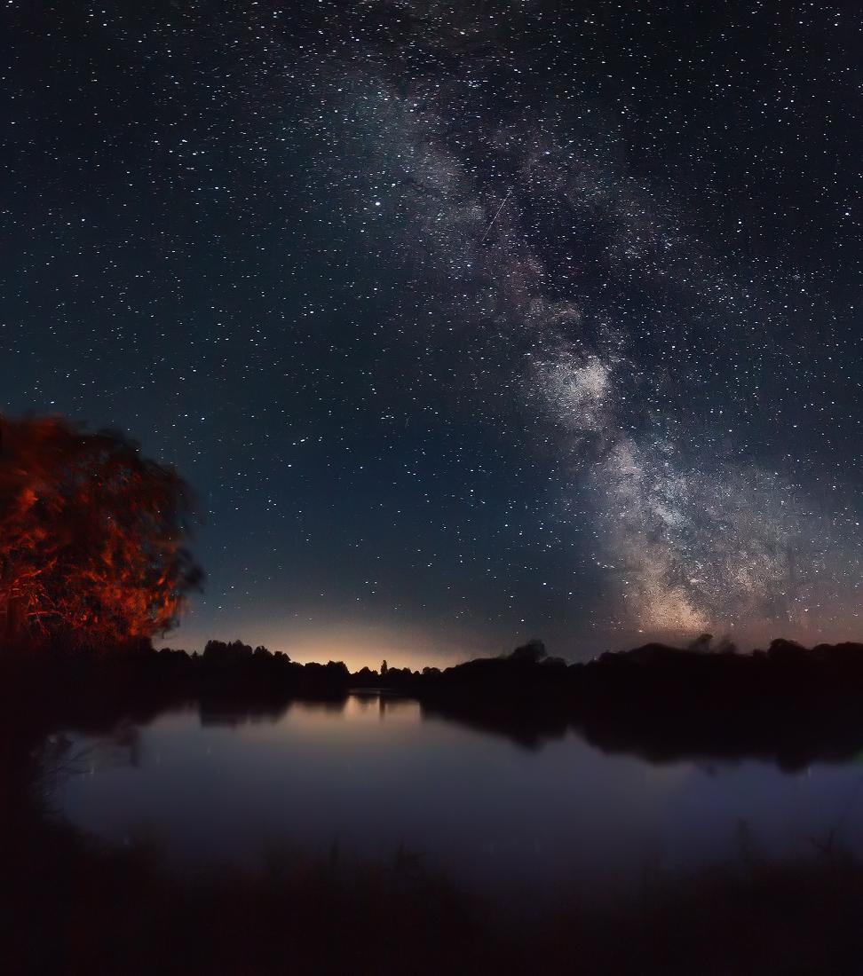 родинку картинки ночного неба в живую заводском дворце культуры