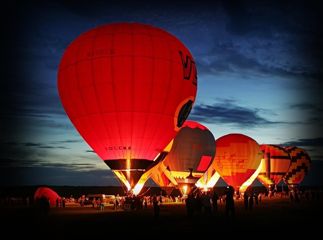Фестиваль воздушных шаров фото