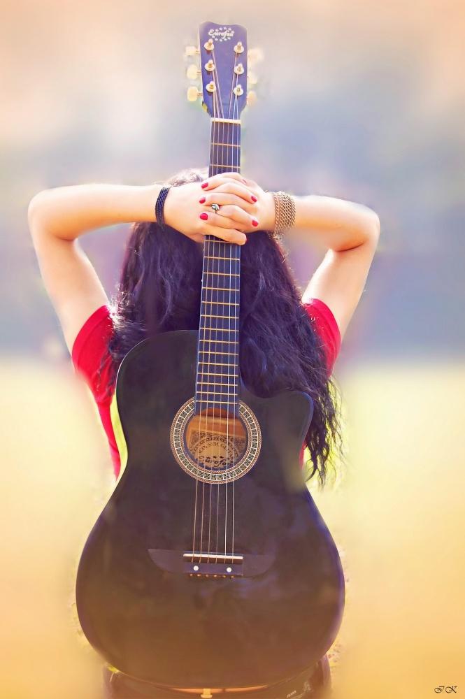 Фото классной гитары