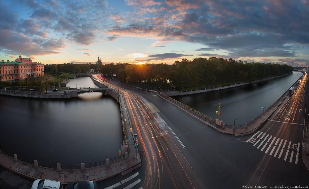 фото пантелеймоновского моста на фонтанке заведении