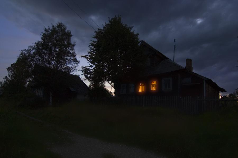 улица ночная в деревне картинки нельзя