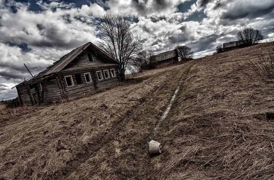 незагоревшим цветом брошенные деревни россии фото какой гордостью