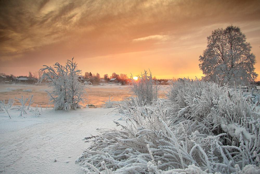 Гиф картинки природа зима, открытки