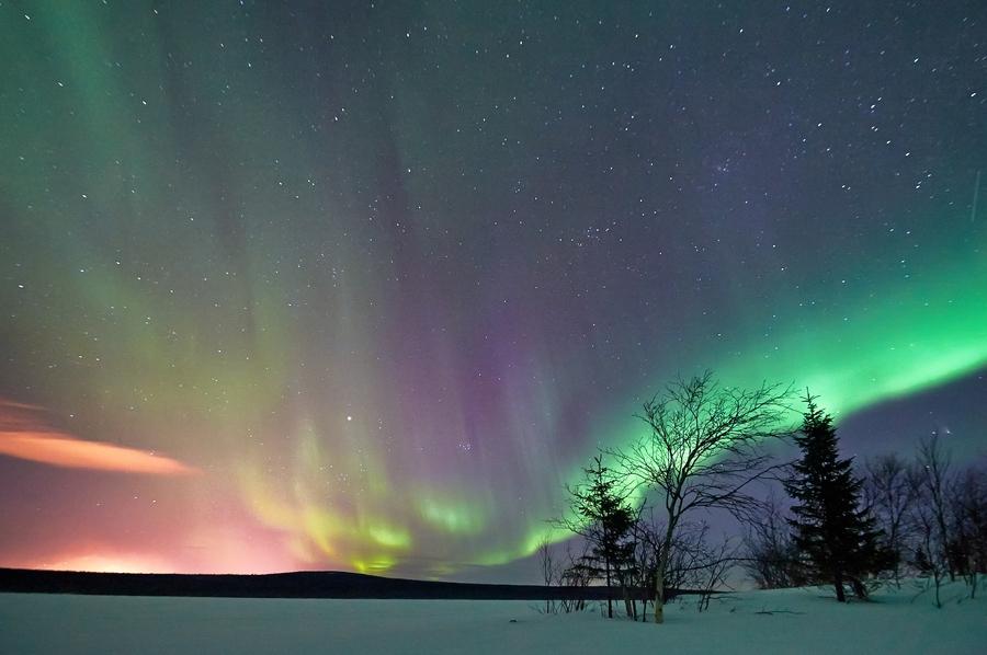 Картинки полярный день полярная ночь