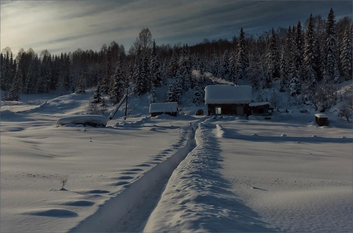 Зима картинки в сибири