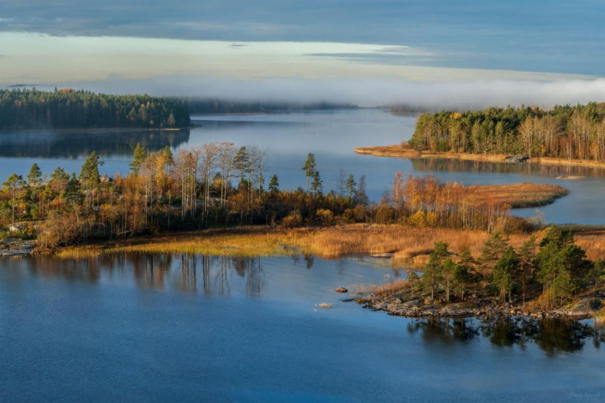 Картинки озеро ладожское
