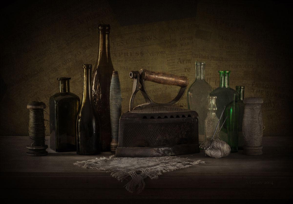 картинки с натюрмортами с бутылками