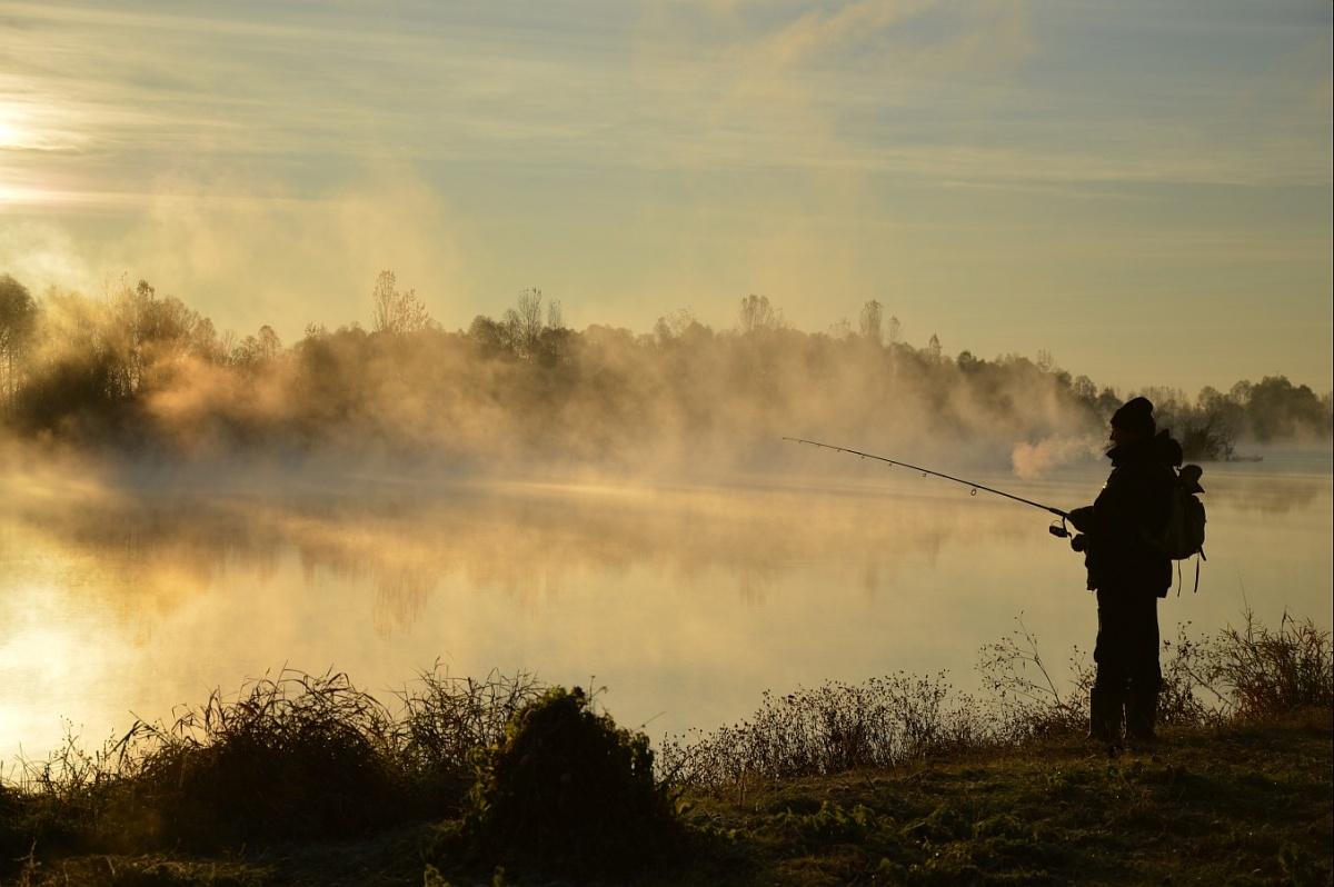 Картинки рыбак на заре