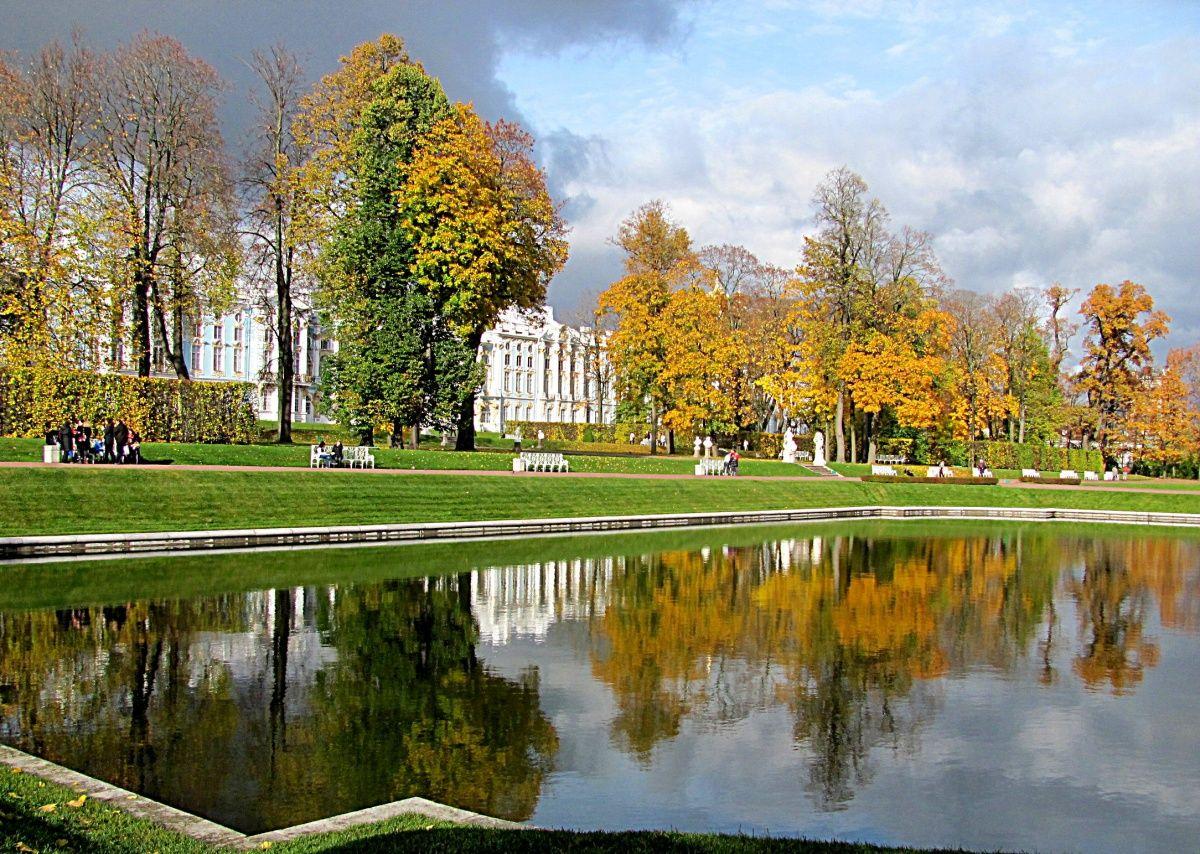 Екатерининский парк в москве в картинках