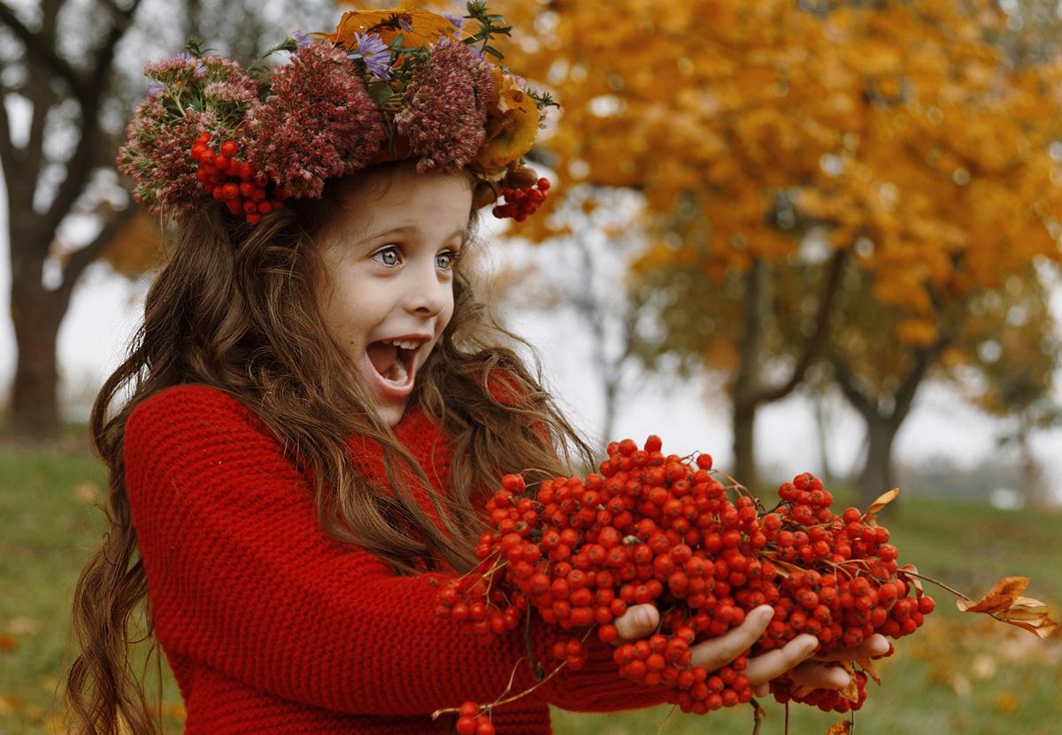 Осень в картинках с людьми