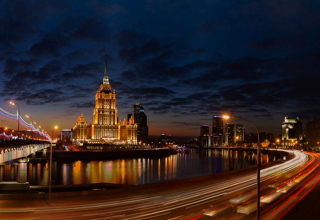 Москва вечерняя картинки