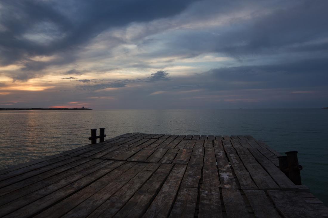 пристань у моря фото того