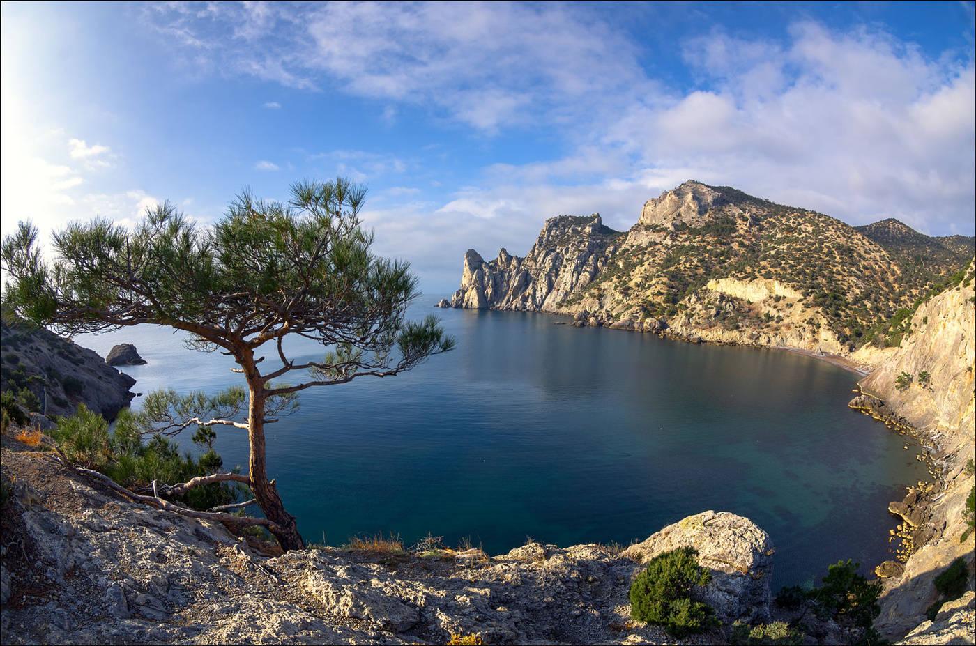 Крым новый свет открытки