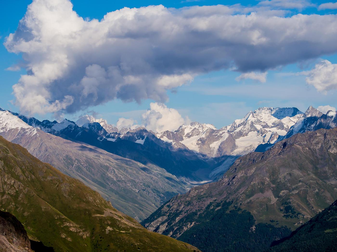 Картинка горы кавказа
