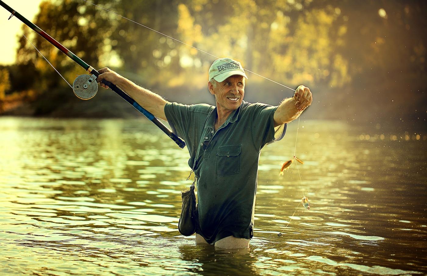 Смотреть картинки рыбака
