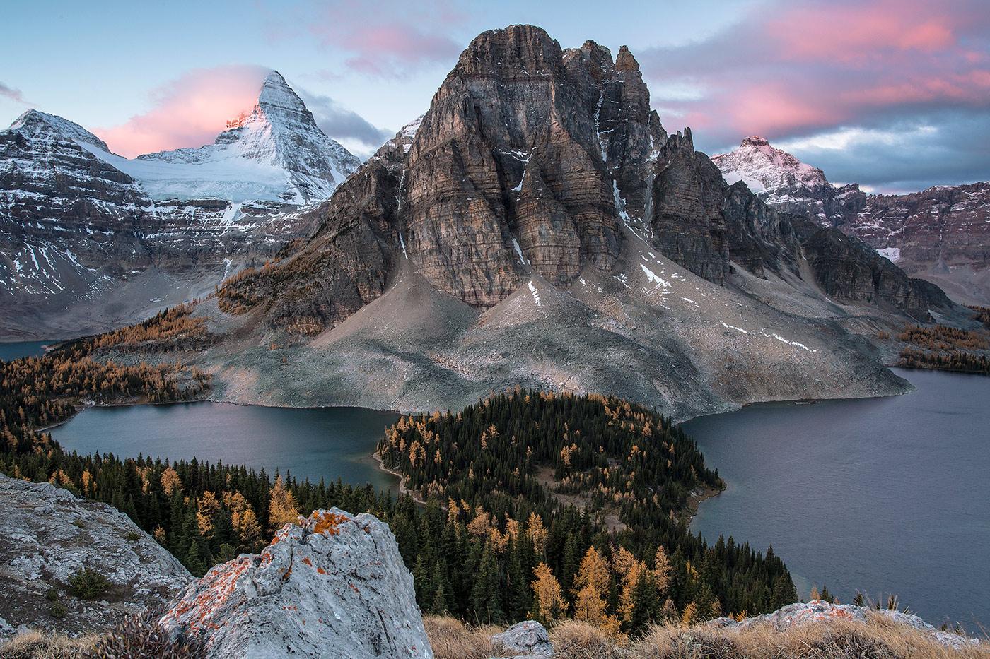 В картинках горы и их названия