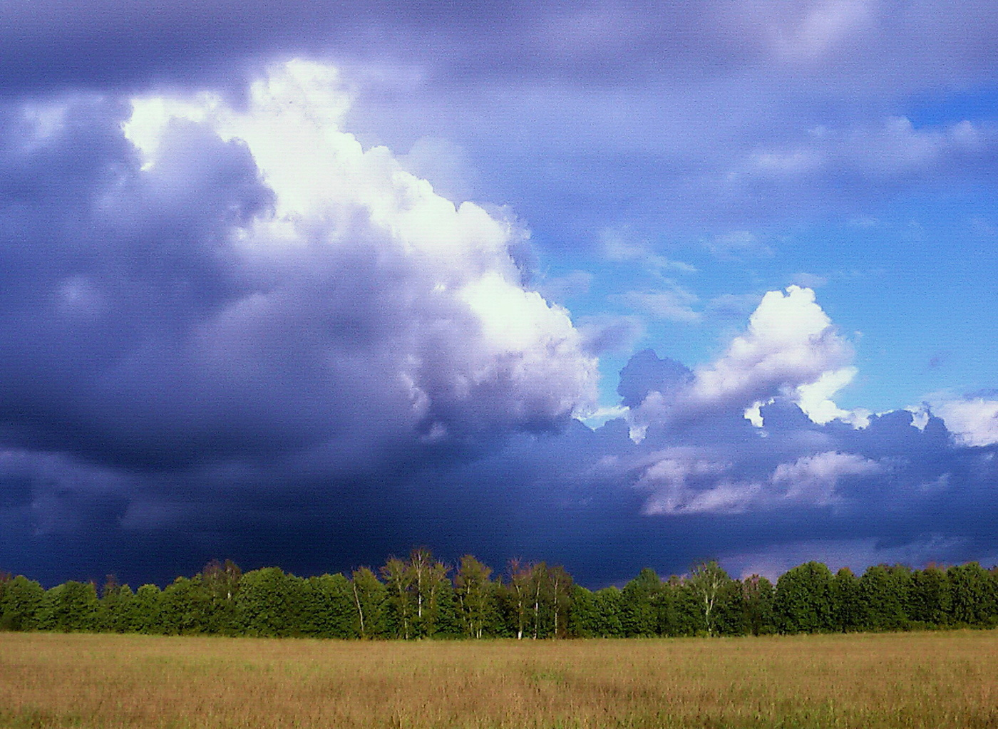 вот фото облака перед дождем своему