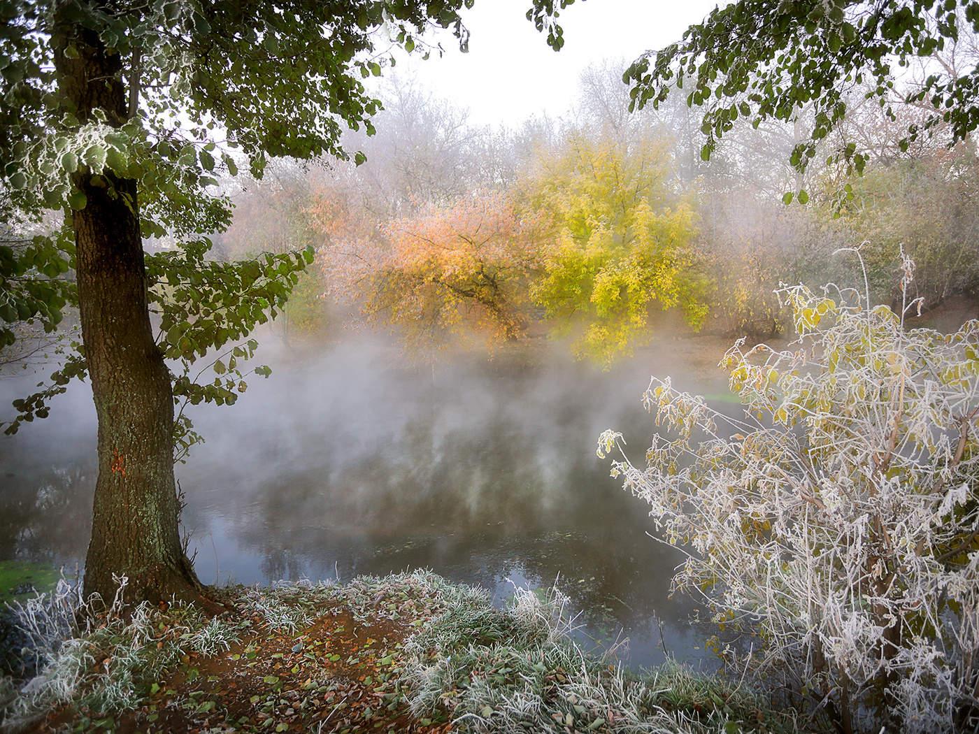 Картинки туман для календаря природы