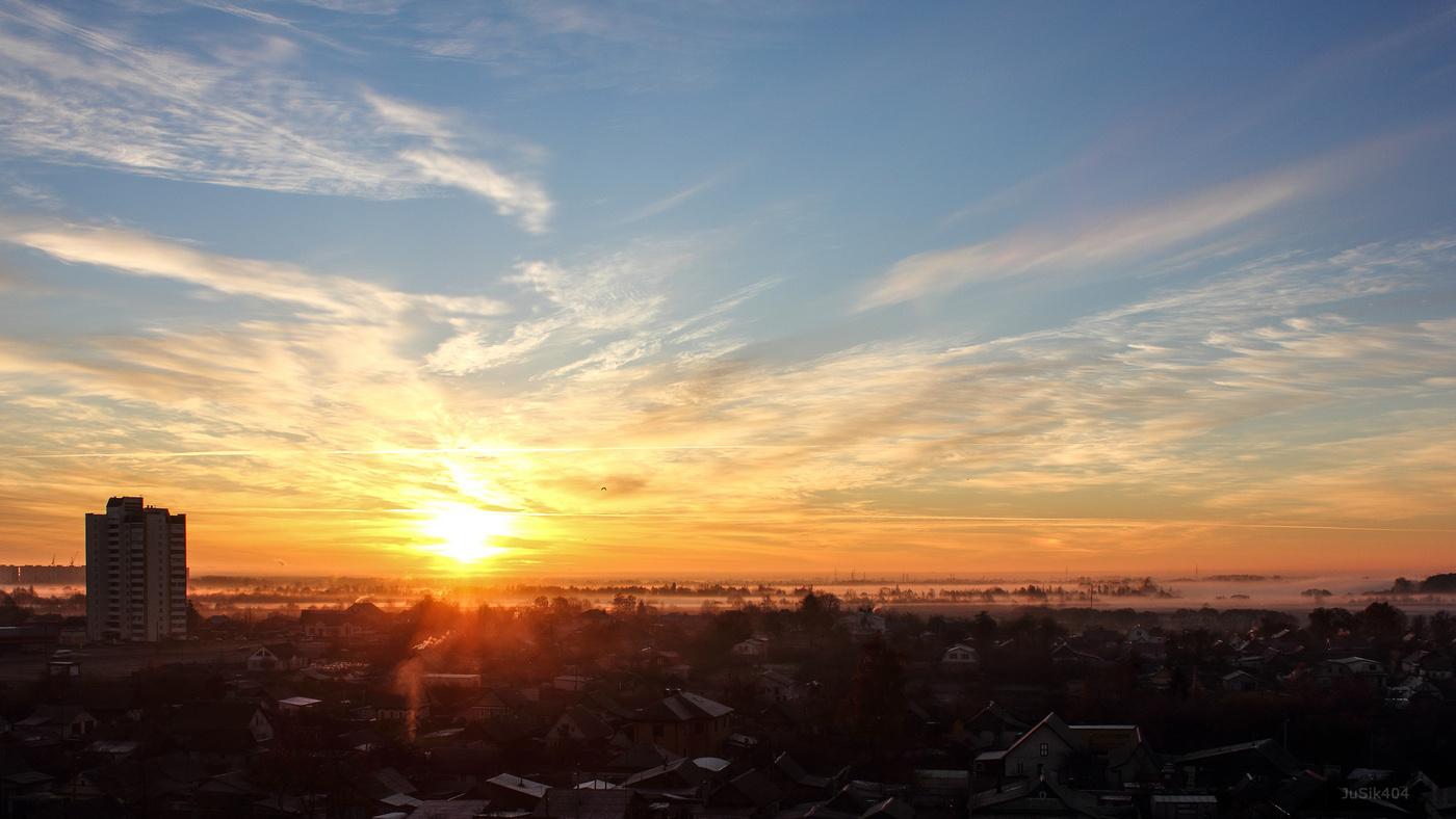 Солнце на крыше картинки