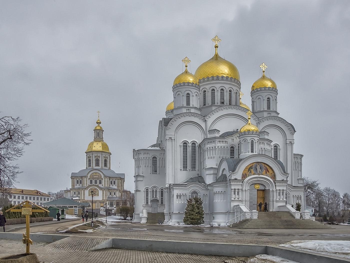 Дивеевский монастырь фото благовещенский собор
