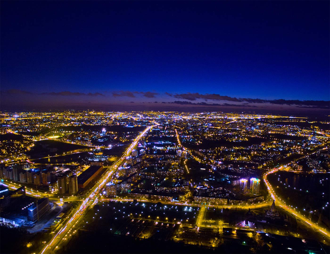 картинки ночные фото с высоты работы фотографом