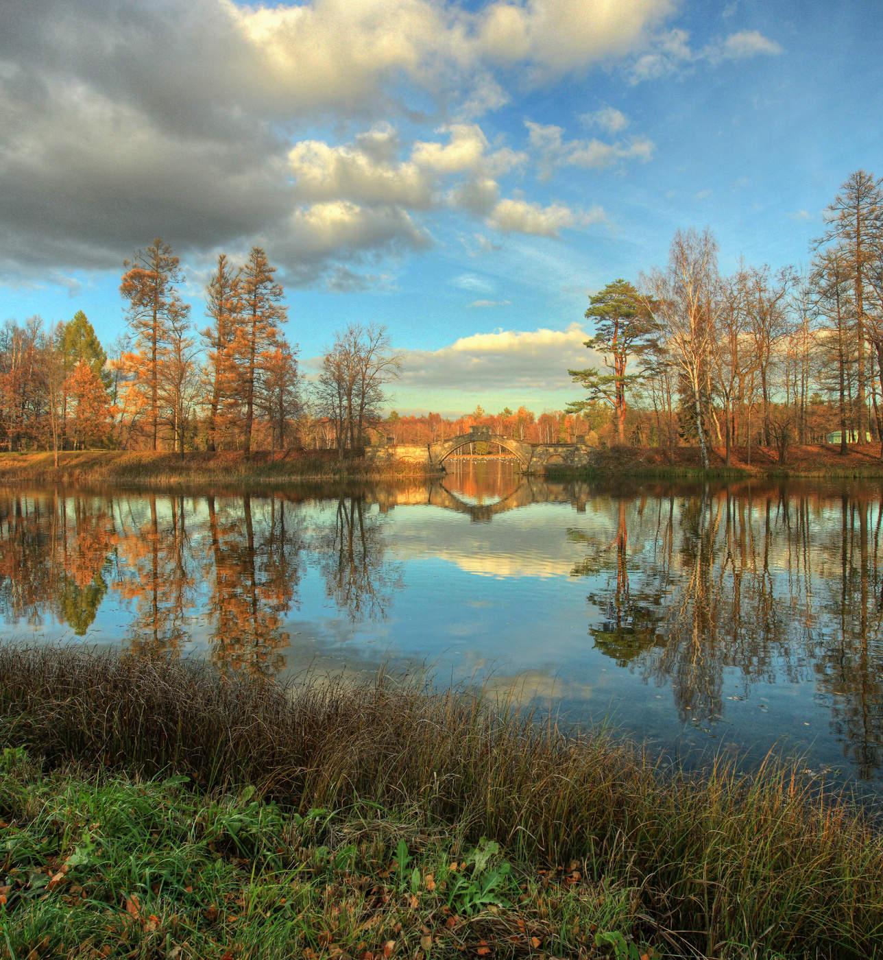 Осень картинки гатчина, есенина любви