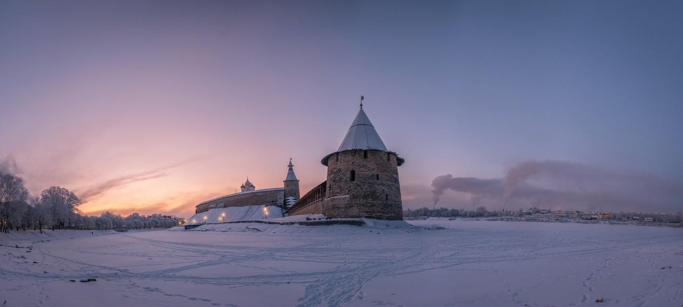 Зимние фото псковской области
