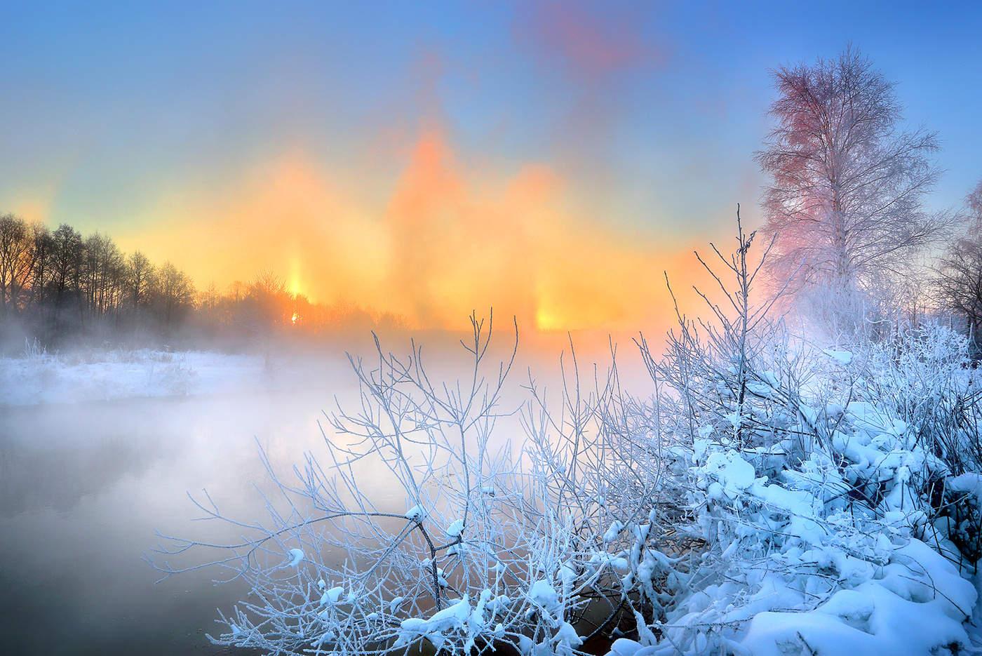 Мое зимнее утро картинки навести
