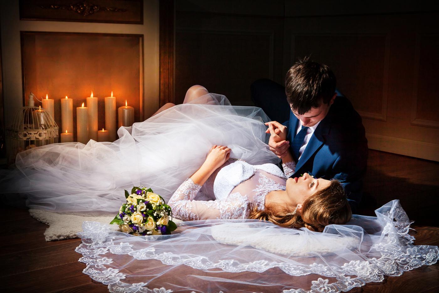 виды используются фото брачной ночи жениха и невесты кухня