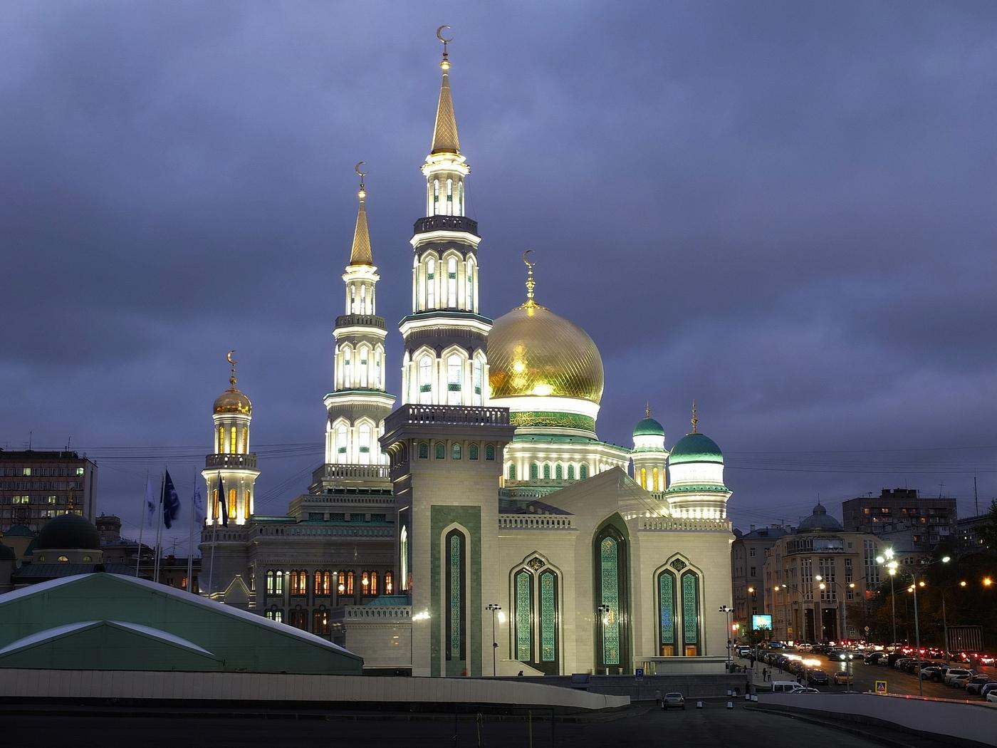 золотое кольцо фотографии московской мечети этом помещении