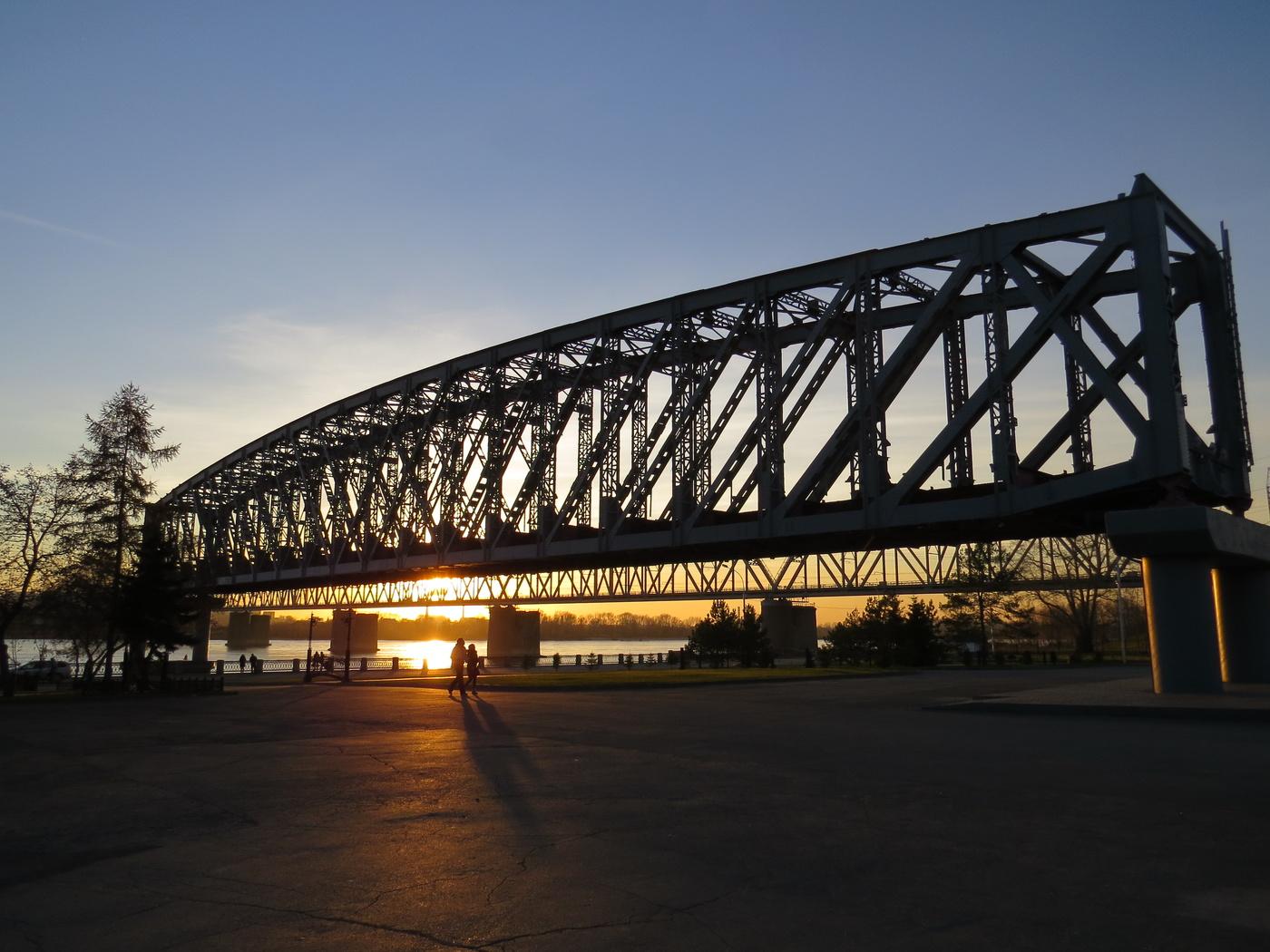 дороге картинки моста комсомольская теплого