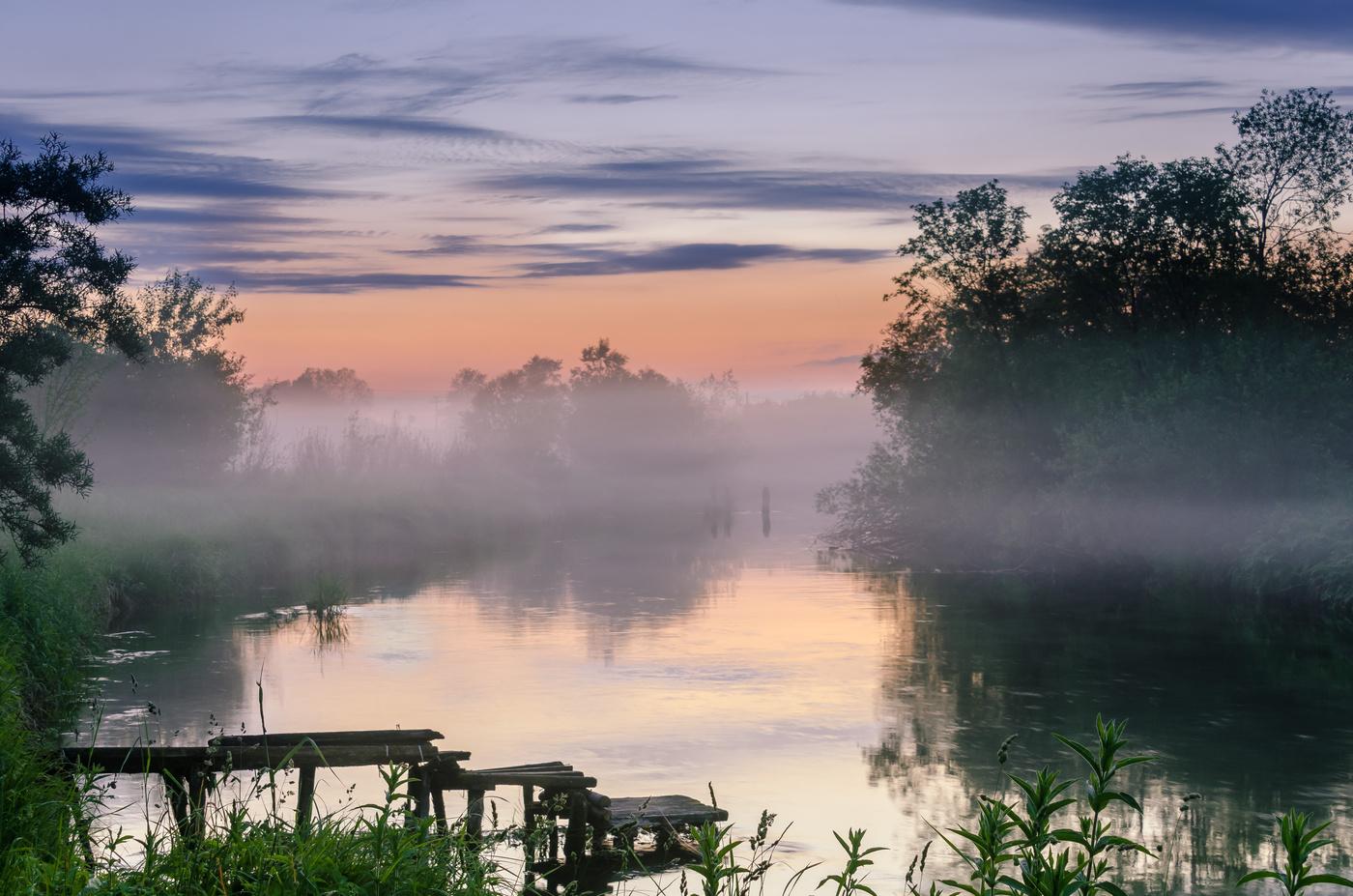 вот пришел туман над рекой фото направления