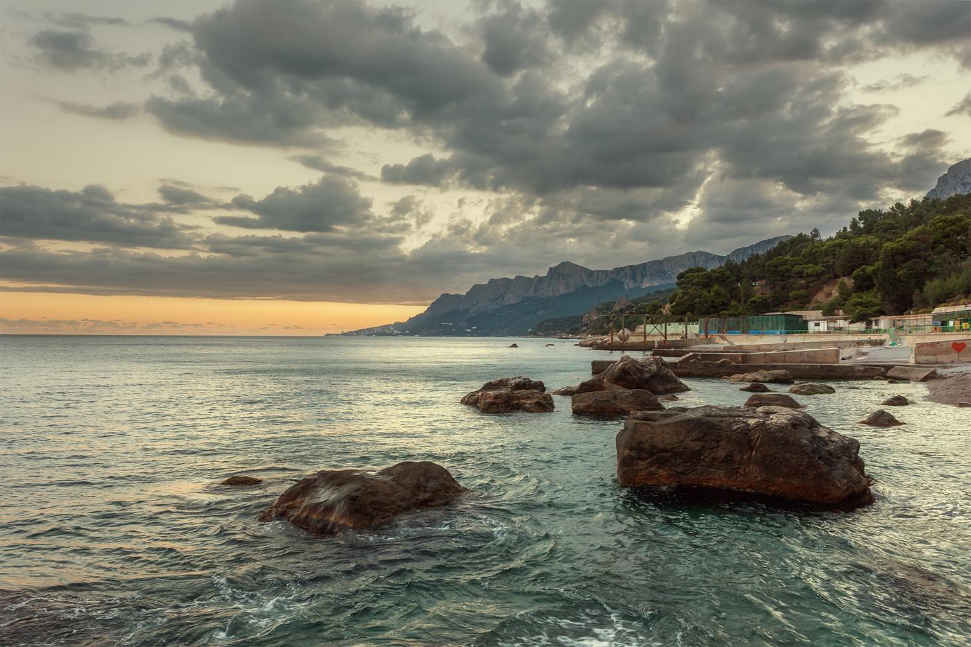 тест, пляжи парковое крым фото созданию крупных, хорошо