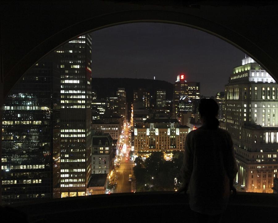 картинка спящий город прически