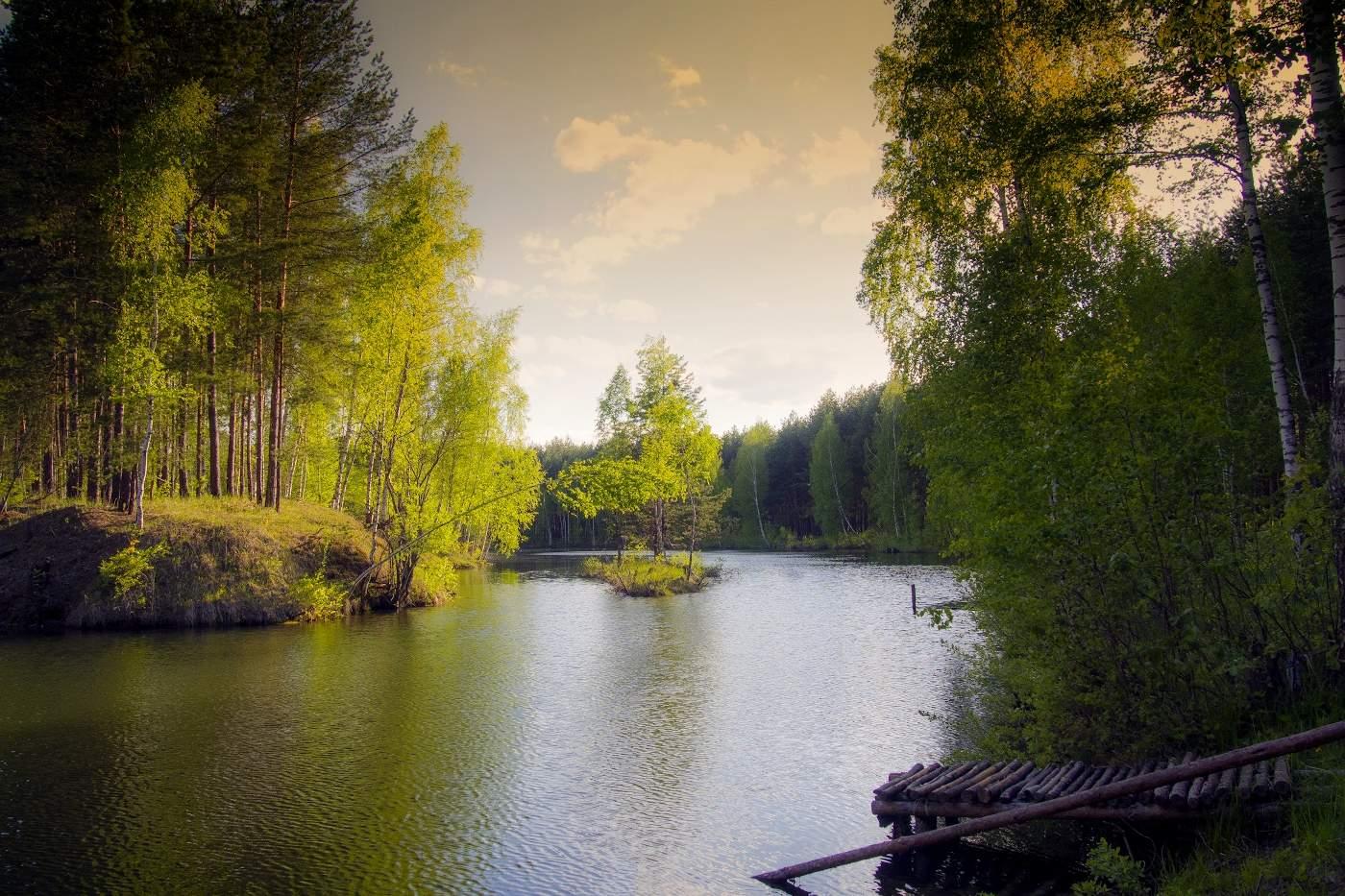 главная героиня картинки лесные озера так