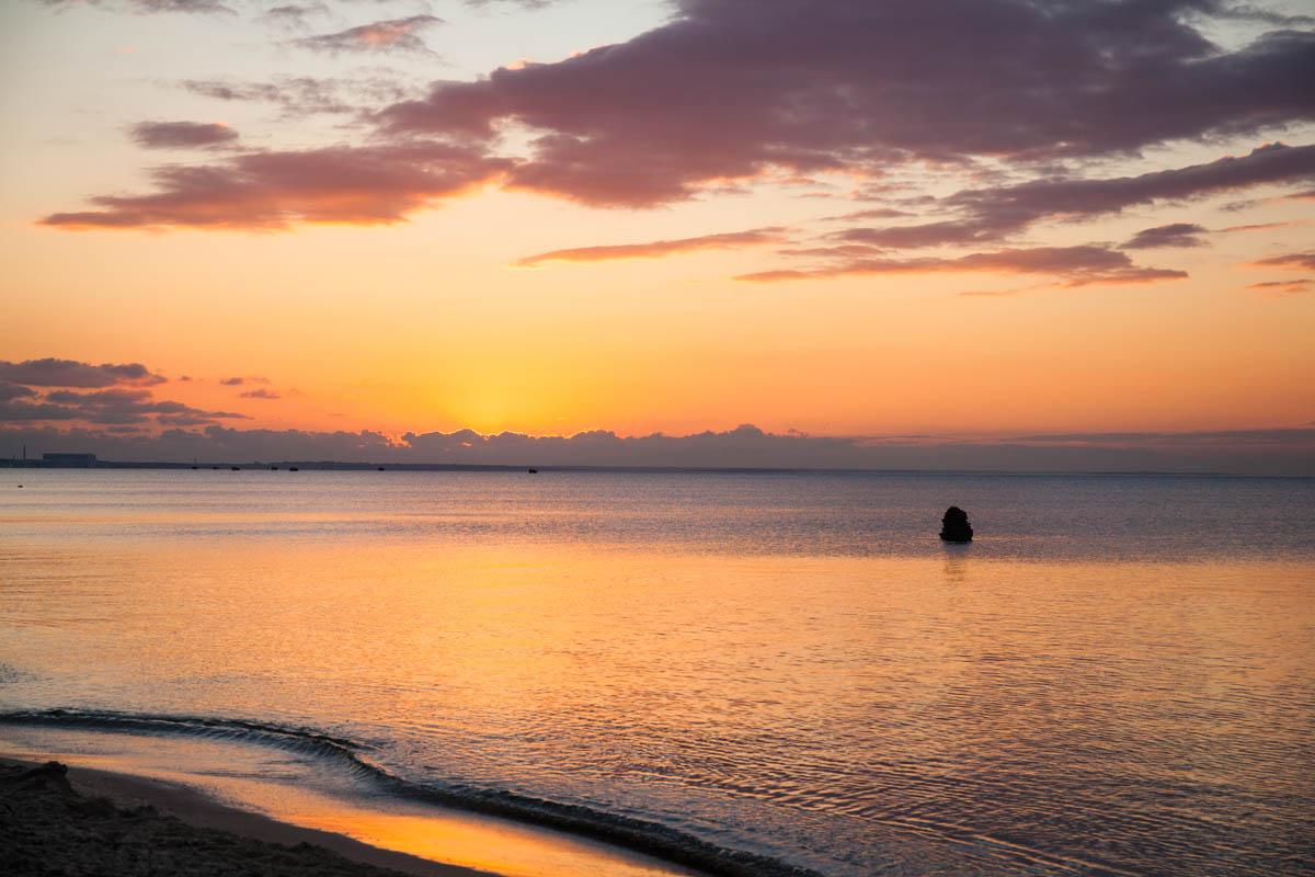 этот фото восход над морем жизни часто