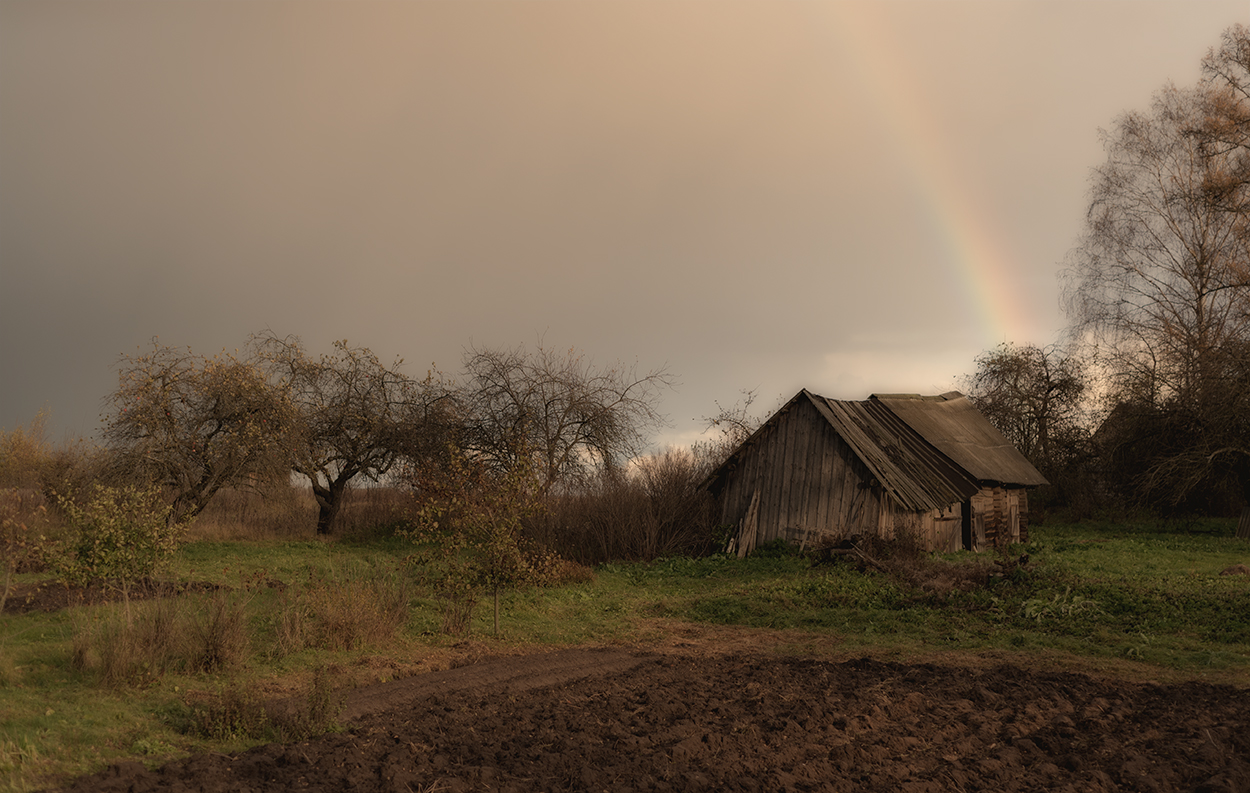 хотите, фотографии дождливая осень в деревне также узнаем