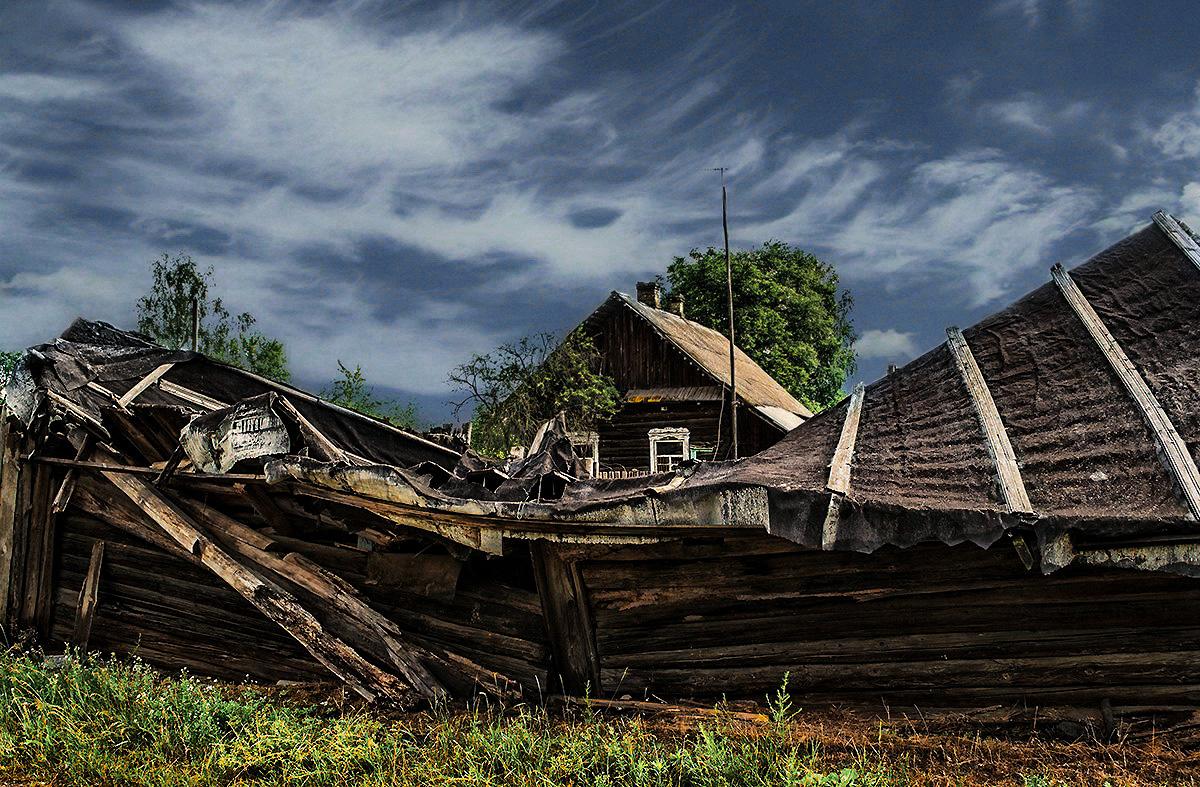 необходимо переходить фото разрушенных домов в деревне будет