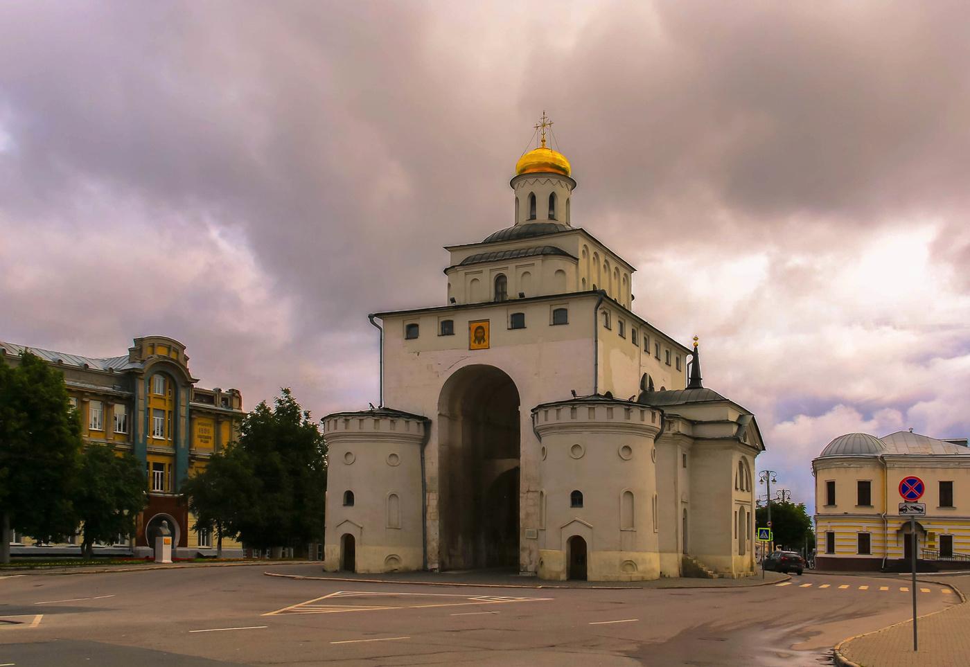 Картинка города владимира золотые ворота