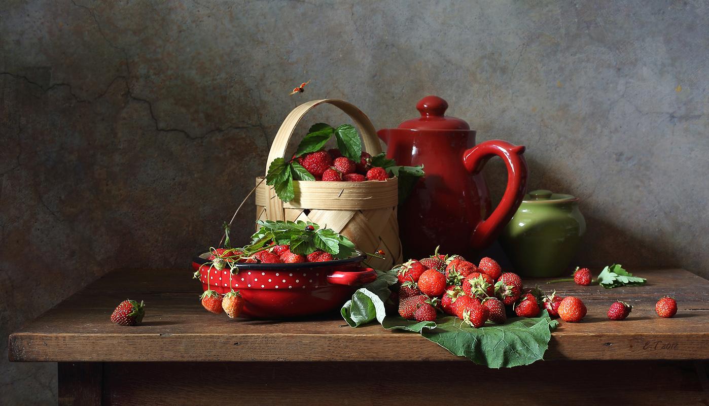 одной картинки натюрморт с ягодами фотограф широкий