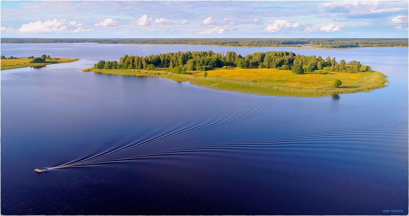 вот картинки браславских озер меня есть