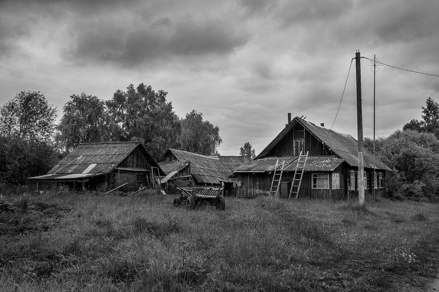 вымирающие деревни фото чего катя